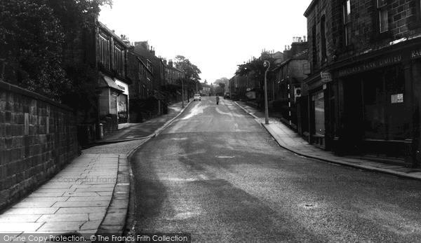 Photo of Oakworth, Lidget Hill c.1960