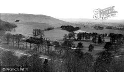 From Martinsell Hill c.1955, Oare