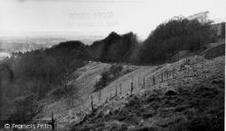 Oare Hill c.1955, Oare