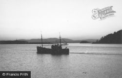 Oban, A Boat In The Bay 1963