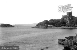 Dunollie Castle And Maiden Island 1901, Oban