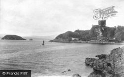 Oban, Dunollie Castle And Maiden Island 1901