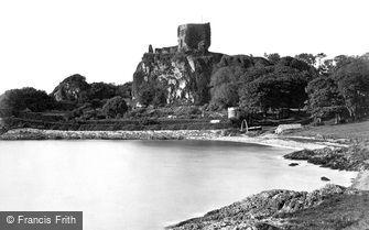 Oban, Dunollie Castle c1880