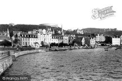 Oban, Esplanade From West 1901