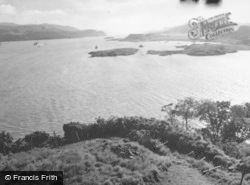 Oban, From Dunollie Castle 1949