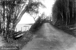 Oban, Ganavan New Road 1903