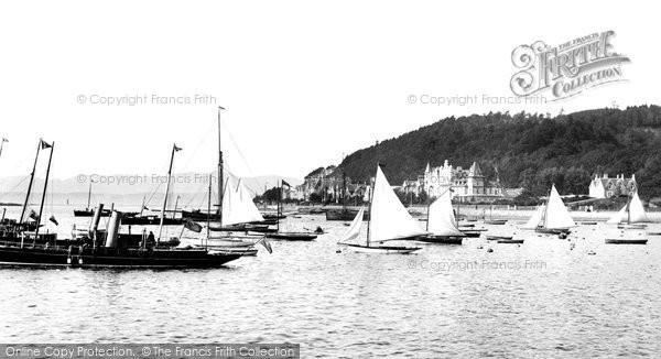 Oban, Ships in the Bay 1901