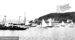 Oban, Ships In The Bay 1901