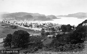 Oban, Sound of Kerrera from N.E c1880