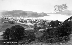 Oban, Sound Of Kerrera From N.E c.1880