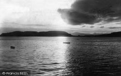 Sunset 1903, Oban