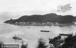 Oban, The Bay From Pulpit Hill 1901