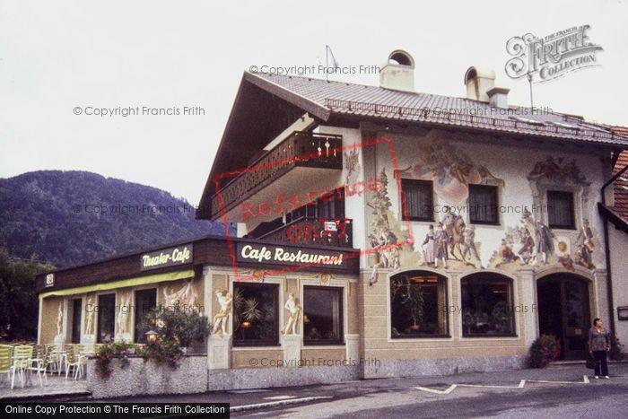 Photo of Oberammergau, A Cafe 1983