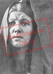 Anni Rutz, Maria In The Passion Play 1934, Oberammergau