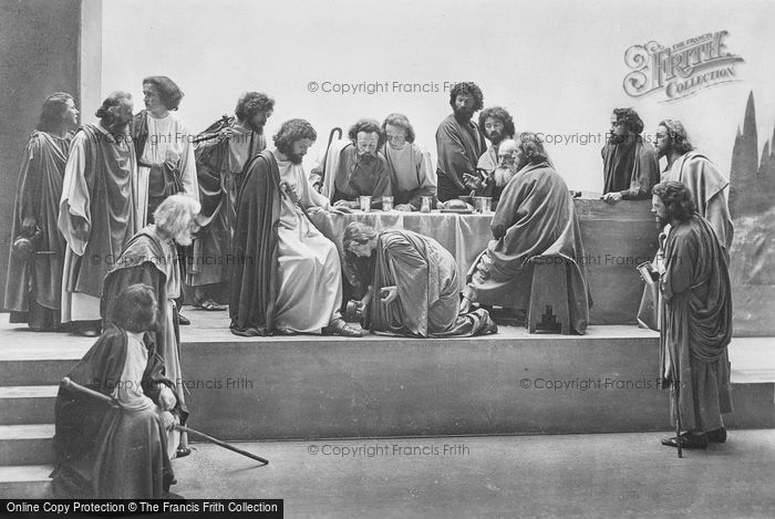Photo of Oberammergau, Anointing Of The Feet, The Passion Play 1934