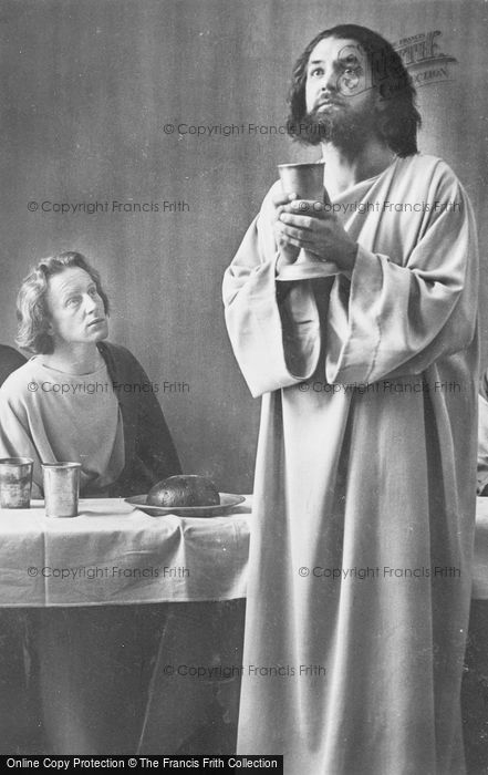 Photo of Oberammergau, Christ And John, The Passion Play 1934