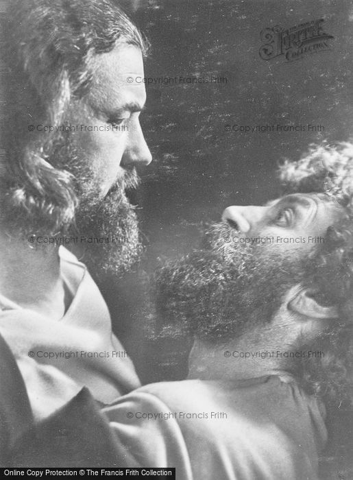 Photo of Oberammergau, Christ And Judas, The Passion Play 1934