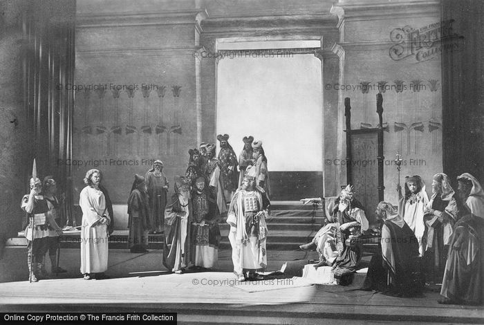 Photo of Oberammergau, Christ Before Herod, The Passion Play 1934