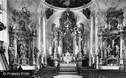 Church Interior c.1935, Oberammergau