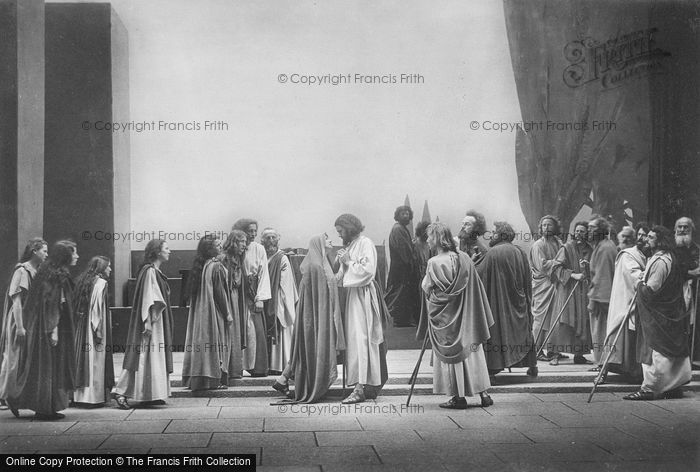 Photo of Oberammergau, Departure From Bethany, The Passion Play 1934