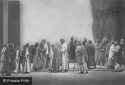 Departure From Bethany, The Passion Play 1934, Oberammergau