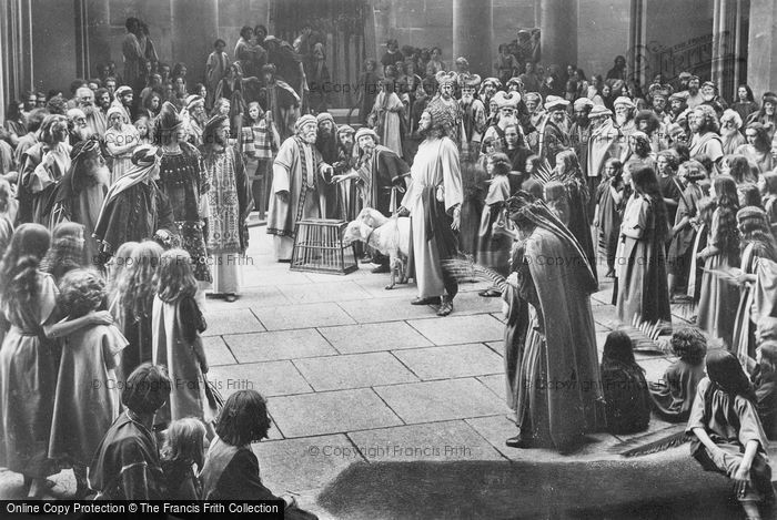 Photo of Oberammergau, Driving The Money Changers And Traders Out Of The Temple, The Passion Play 1934