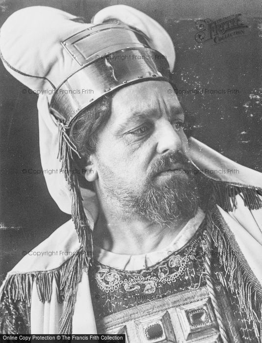 Photo of Oberammergau, Hugo Rutz, Kaiphas In The Passion Play 1934