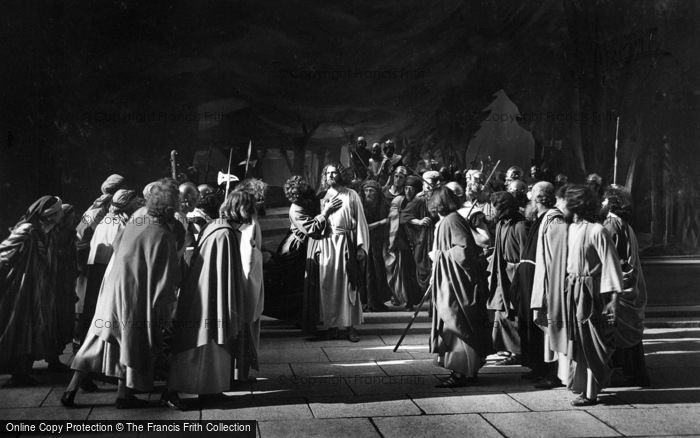 Photo of Oberammergau, Jesus Taken Prisoner, The Passion Play 1934