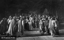 Jesus Taken Prisoner, The Passion Play 1934, Oberammergau