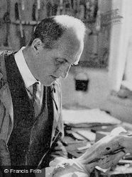 Joh Georglang, Director Of The Passion Play 1934, Oberammergau