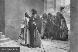 Judas And The Traders, The Passion Play 1934, Oberammergau