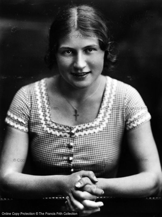 Photo of Oberammergau, Klara Mayr 1934