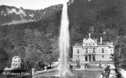Linderhof Palace c.1935, Oberammergau