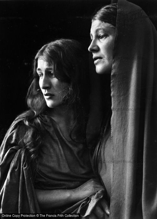 Photo of Oberammergau, Mary And Magdalen, The Passion Play 1934