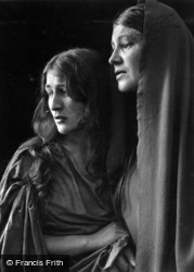 Mary And Magdalen, The Passion Play 1934, Oberammergau