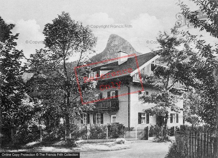 Photo of Oberammergau, Pension Zunterer c.1935