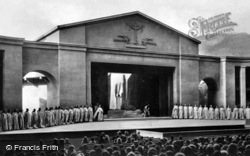 Tableaux In The Passion Play 1934, Oberammergau