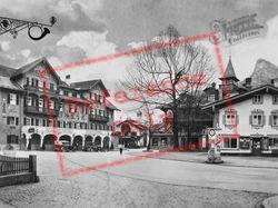 The Chief Square c.1935, Oberammergau