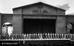 The Chorus Of The Passion Play 1934, Oberammergau