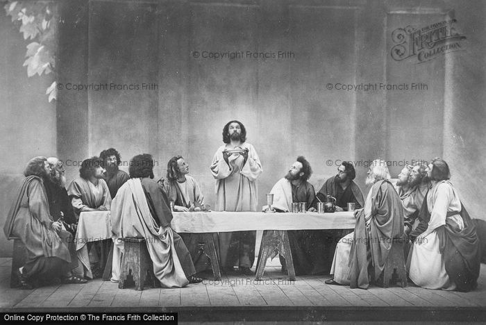 Photo of Oberammergau, The Last Supper, The Passion Play 1934