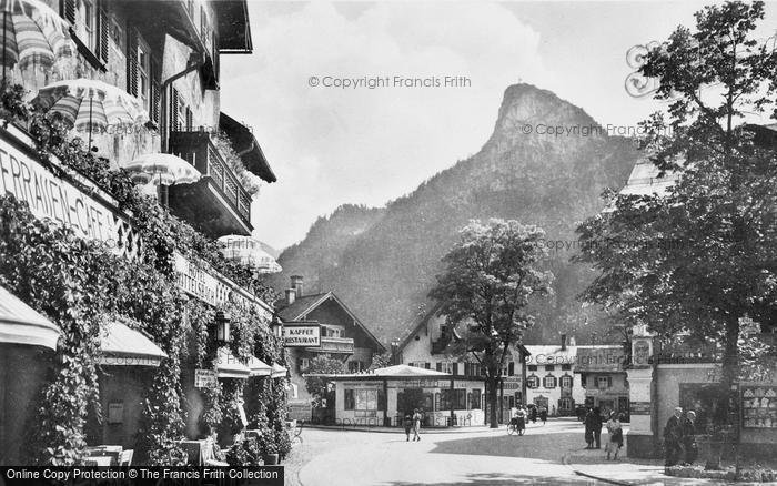 Photo of Oberammergau, The Square c.1935