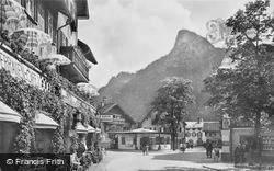 The Square c.1935, Oberammergau