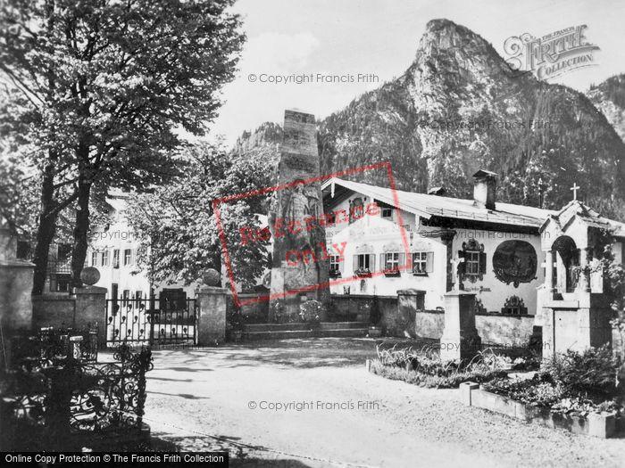 Photo of Oberammergau, The Village c.1935