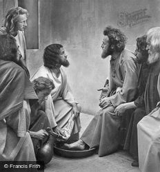 The Washing Of The Feet, The Passion Play 1934, Oberammergau