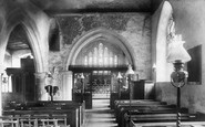 Ockham, the Church interior 1903