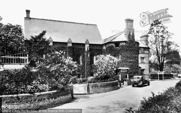 Ockham, The Hautboy Hotel c1938