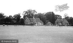 Church And School c.1965, Ockley