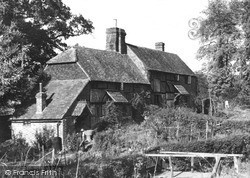 Old Cottages c.1955, Ockley