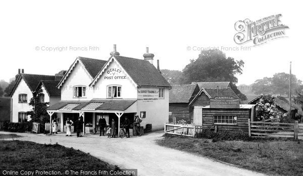 Ockley, Post Office, 1914. Reproduced courtesy of The Francis Frith Collection