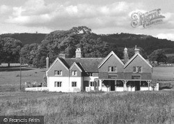 Post Office And Leith Hill c.1955, Ockley